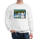 Sailboats (1) Sweatshirt