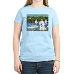 Sailboats (1) Women's Light T-Shirt