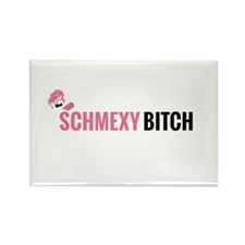 Schmexy Girl Book Blog Logo Magnets