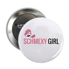 Schmexy Girl Book Blog Logo 2.25&Quot; Button