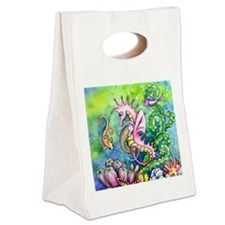 Hugs Canvas Lunch Tote