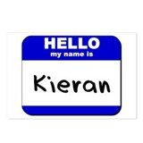 hello my name is kieran  Postcards (Package of 8)