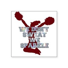 Cheerleader we sparkle Sticker