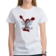 Cheerleader we sparkle T-Shirt