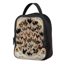 Poultry of the World Neoprene Lunch Bag
