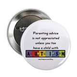 Parenting Autism Button