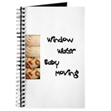 Window Water Baby Moving Notebook