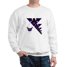 LEATHER EAGLES W/PRIDE FLAGS Sweatshirt