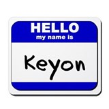 hello my name is keyon  Mousepad