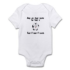 On That Farm - Cow Infant Bodysuit