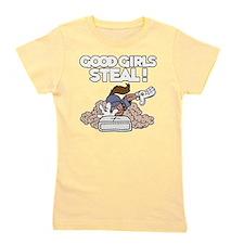 white Good Girls Girl's Tee