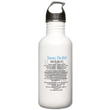 Taurus traits Water Bottle