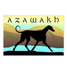 Azawakh Seaside Postcards (Package of 8)