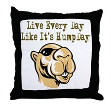 Hump Day - Lght Throw Pillow