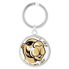 Hump Day Button Round Keychain