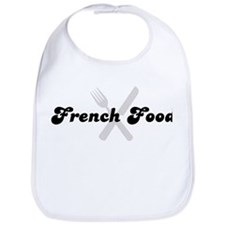 French Food (fork and knife) Bib