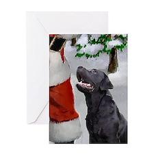Labrador Retriever Christmas Cards (Pk of 10) Gree