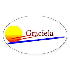 Graciela Oval Decal