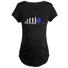Hockey Evolution Maternity T-Shirt