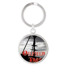 Oilfield Trash - Wellhead Round Keychain
