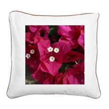 Bougainvillea - Square Canvas Pillow