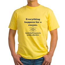 Everything Happens Physics T-Shirt