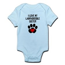 I Love My Labradoodle Sister Body Suit