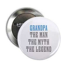 "Grandpa The Man Myth Legend 2.25"" Button"