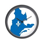 CarteQc1AvecLys.png Wall Clock