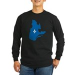 CarteQc1AvecLys.png Long Sleeve T-Shirt