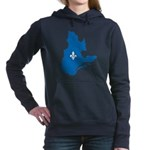 CarteQc1AvecLys.png Hooded Sweatshirt