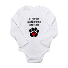 I Love My Labradoodle Brother Body Suit