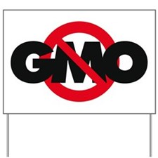 Stop GMO (distressed style) Yard Sign