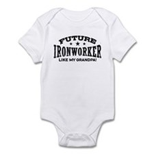 Future Ironworker Like My Grandpa Infant Bodysuit