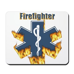 Firefighter Gifts Mousepad