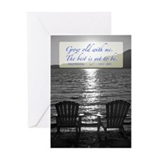 Grow Old With Me Poem Greeting Cards