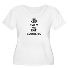 Keep calm and eat Carrots Plus Size T-Shirt