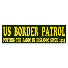 US Border Patrol - Putting the Panic in Hispanic s