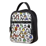 Penguinality3.Png Neoprene Lunch Bag