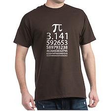 Pi Eye Test Chart T-Shirt