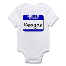 hello my name is keagan  Infant Bodysuit