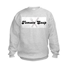 Tomato Soup (fork and knife) Sweatshirt