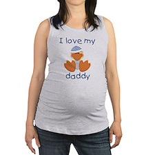 lovemydaddy7.png Maternity Tank Top
