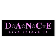 dance02d Bumper Bumper Sticker