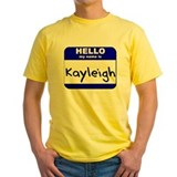 hello my name is kayleigh T