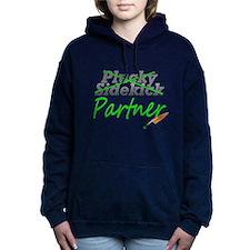 11x11pluckysidekick_partner_png.png Hooded Sweatsh