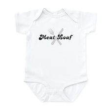Meat Loaf (fork and knife) Infant Bodysuit