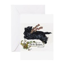 Scottish Terrier Season Greeting Cards