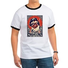 Obey the Pug! Flying Ace- Ash Grey T-Shirt