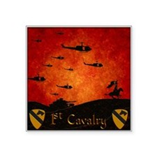 Harvest Moons 1St Cavalry Past Present Sticker